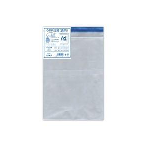 (業務用30セット) 菅公工業 OPP厚口透明封筒 シ920 A4用 100枚