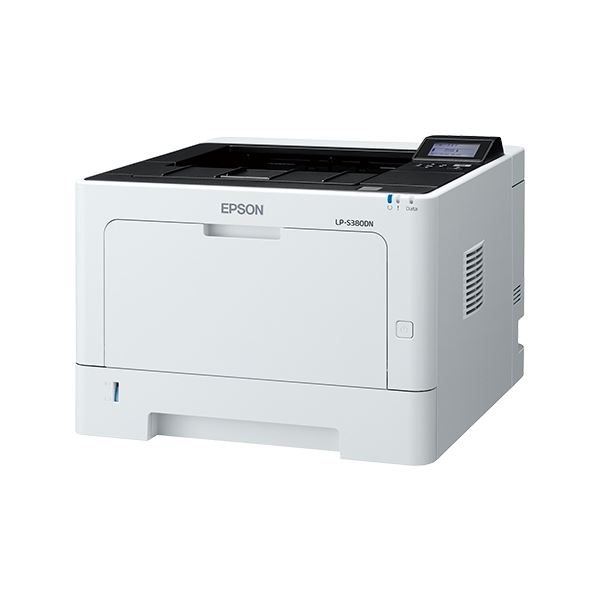エプソン A4モノクロページプリンター/40PPM/LCDパネル搭載/両面印刷/ネットワーク/耐久性30万ページ LP-S380DN