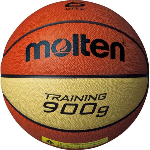 【モルテン Molten】 トレーニング用 バスケットボール 【6号球】 約900g 天然皮革 9090 B6C9090 〔運動 スポーツ用品〕