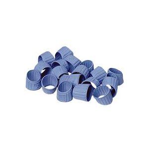 (業務用100セット) プラス メクリッコ KM-402 M ブルー 箱入