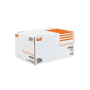 (まとめ) TANOSEE PPC用紙 Pure White A4 1箱(5000枚:500枚×10冊) 【×10セット】