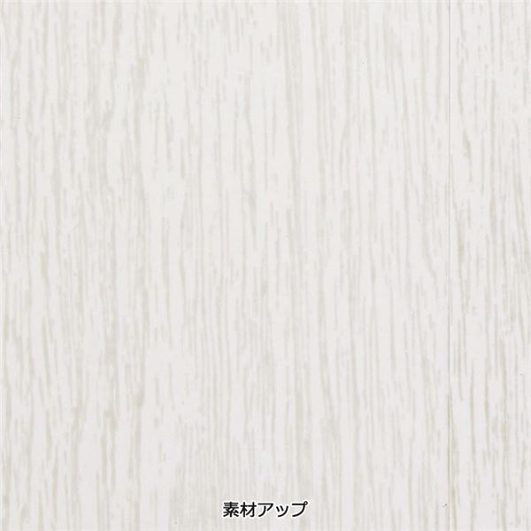 素敵に間仕切りパネルドア(アコーディオンドア) 【窓なし 約95×174cm】 ホワイト