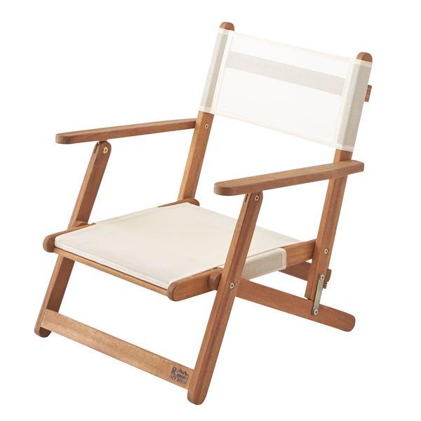 天然木フォールディングチェア(折りたたみ椅子) 木製/アカシア NX-511 〔アウトドア キャンプ お庭 テラス〕