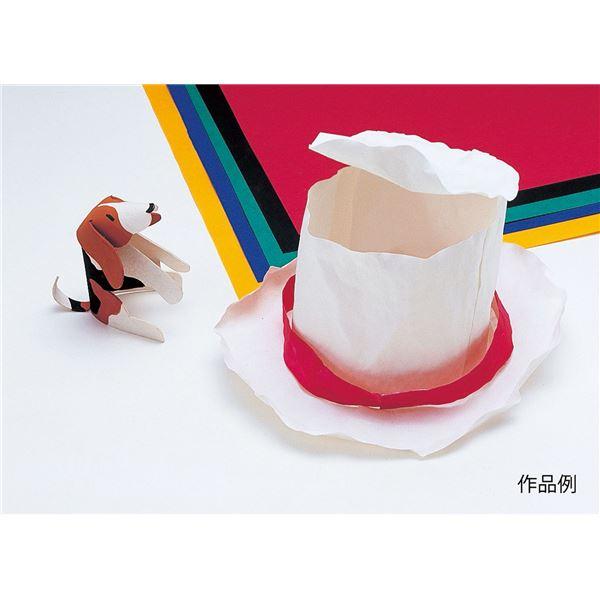 (まとめ)アーテック ファイバーアート/工作紙 【小 10枚組】 厚み0.25mm 【×5セット】