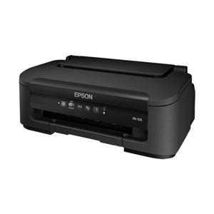 エプソン A4カラービジネスインクジェットプリンター/カラー18PPM/モノクロ34PPM/無線LAN PX-105