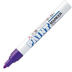 (業務用200セット) 三菱鉛筆 油性ペン/ペイントマーカー 【中字】 PX-20.12 紫:西新オレンジストア