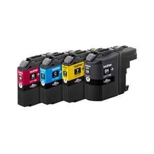 ブラザー工業 インクカートリッジ大容量タイプ 4色パック LC117/115-4PK
