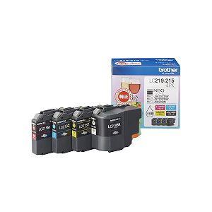 ブラザー工業 インクカートリッジ大容量タイプ お徳用4色パック LC219/215-4PK