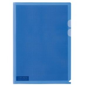 (業務用5セット) プラス カモフラージュホルダー A4 青 100冊