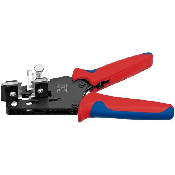 最新のメカニズムを採用したワイヤーストリッパー KNIPEX(クニペックス)1212-12 ワイヤーストリッパー