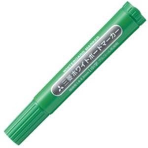 (業務用300セット) 三菱鉛筆 ホワイトボードマーカー PWB4M6 中字緑
