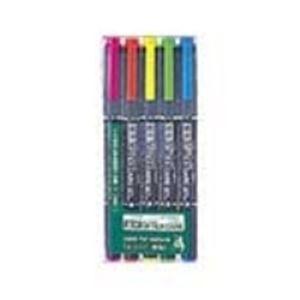 (業務用100セット) ZEBRA ゼブラ 蛍光マーカー/蛍光オプテックスケア 【5色セット】 水性顔料インク WKCR1-5C