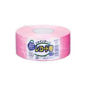 (業務用100セット) 松浦産業 シャインテープ レコード巻 420P 桃