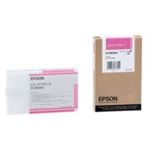 (業務用10セット) EPSON エプソン インクカートリッジ 純正 【ICVM36A】 ビビットマゼンタ