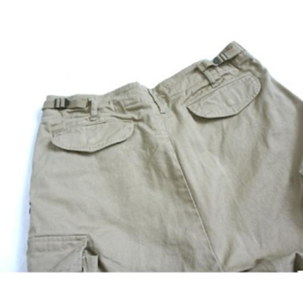 USタイプ「 M-65」フィールド七分丈パンツ カーキ メンズ Sサイズ