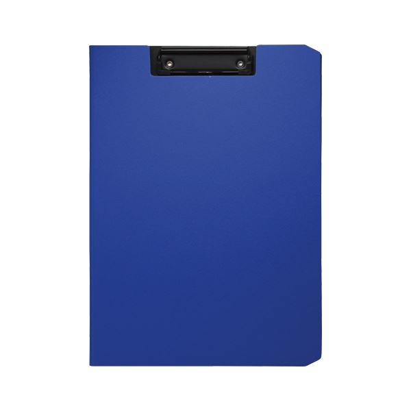 (まとめ) ソニック クリップファイル ソフィット A4タテ ブルー【×20セット】