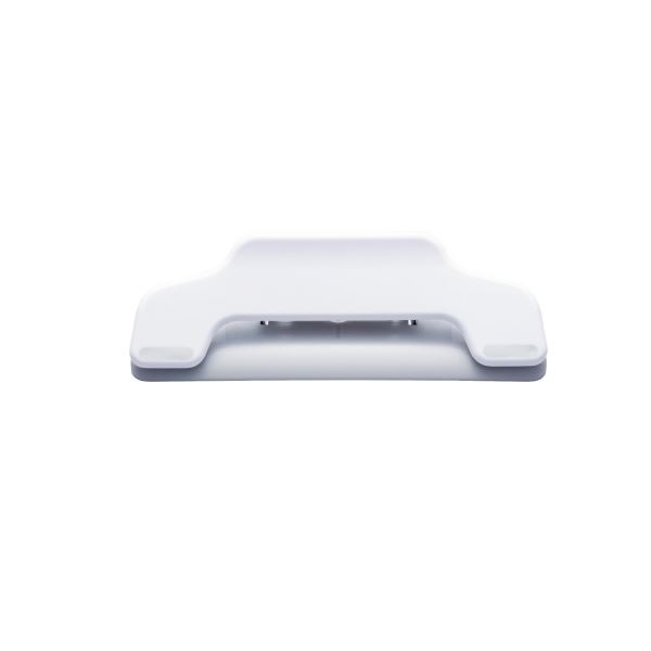 (まとめ)プラス マグネットクリップワイドCP-123MW 白 10個【×5セット】