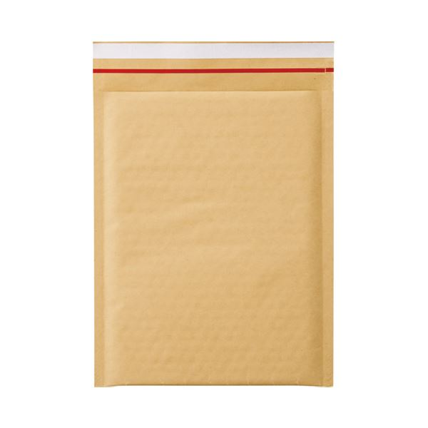 (まとめ)今村紙工 クッション封筒 茶テープ付 2枚組CD用10枚【×50セット】