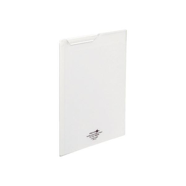 (まとめ)LIHITLAB クリップファイルA4 乳白 F-5067-1【×30セット】