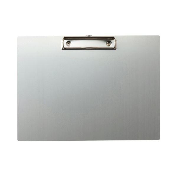 安心の定価販売 割れないアルミ製 異物混入対策に 別倉庫からの配送 TANOSEE アルミクリップボード A4ヨコ 1セット 10枚