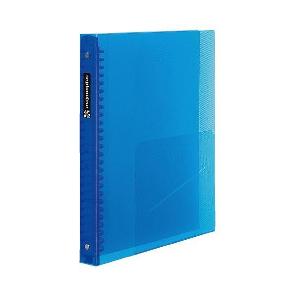 (まとめ)マルマン セプトクルールF300B-02ブルー4冊【×10セット】