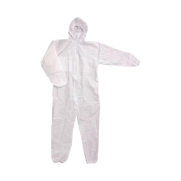 (まとめ)川西工業 不織布つなぎ服防じんタイプ #7017 Mサイズ【×50セット】