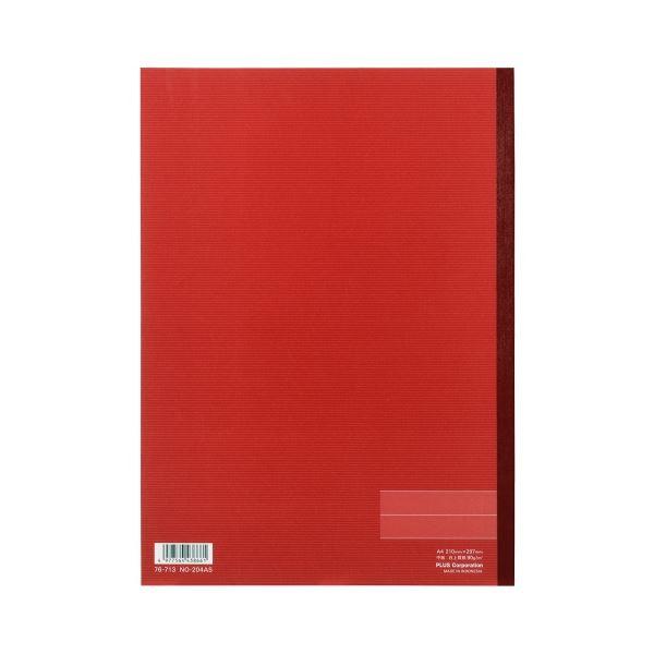 (まとめ)プラス ノートブック NO-204AS A4 A罫 10冊【×30セット】