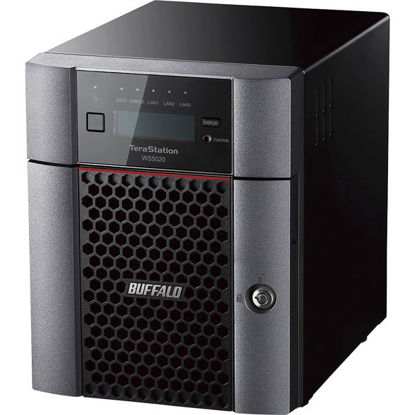 Windows Server IoT 2019 for Storage StandardEdition搭載 4ベイデスクトップNAS 8TB
