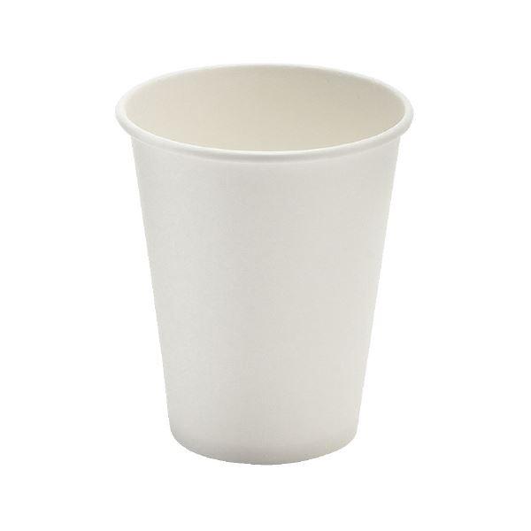 (まとめ)サンナップ 厚紙カップ ホワイト 280mL 50個入【×50セット】