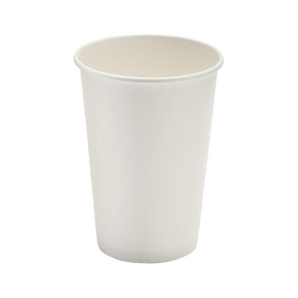 (まとめ)サンナップ 厚紙カップ ホワイト 400mL 40個入【×30セット】