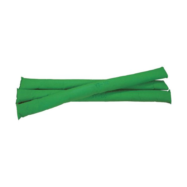 JOHNAN 油吸収材 アブラトールチューブ Φ6.6×100cm グリーン YT-100G 1箱(40本)