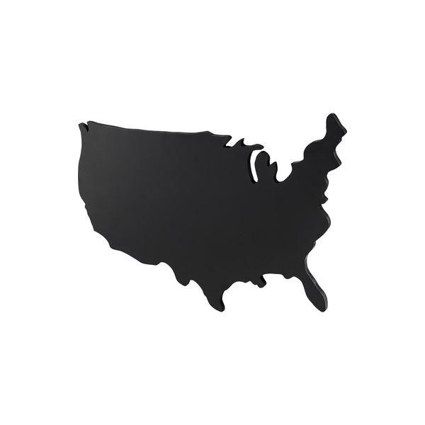 USA型 ブラックボード/黒板 【Lサイズ】 幅120cm 繊維板製 〔店舗 飲食店 オフィス リビング ダイニング〕