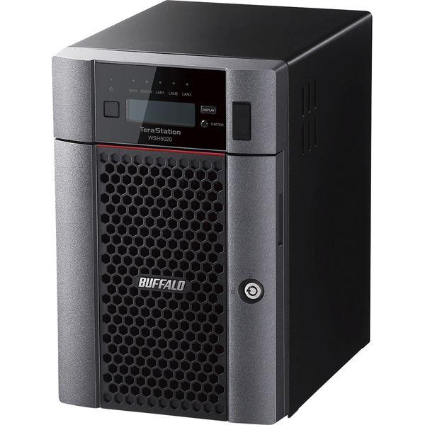 ハードウェアRAID Windows Server IoT 2019 for StorageStandard Edition搭載 6ベイデスクトップNAS 24TB