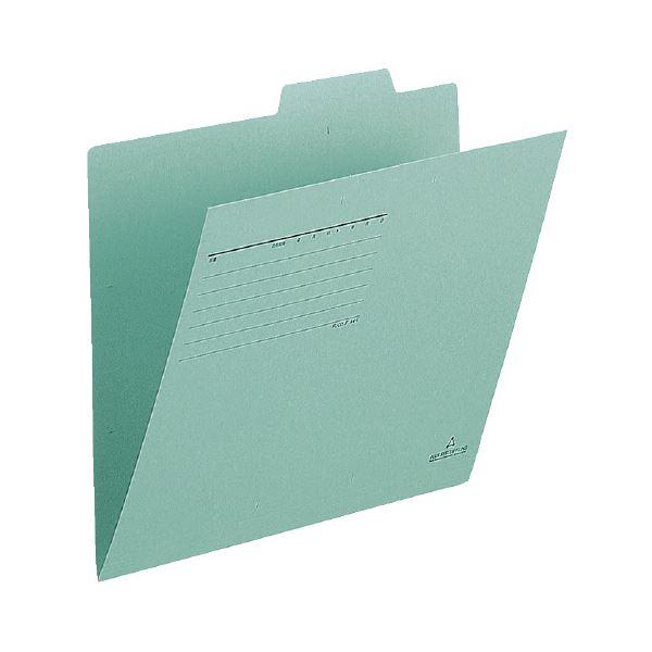 (まとめ)プラス 個別フォルダー FL-001IF A4E 緑 100枚【×5セット】