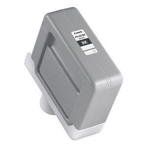インクカートリッジ 純正インクカートリッジ・リボンカセット (まとめ) キヤノン Canon インクタンク PFI-307BK 染料ブラックインク 330ml 9811B001 1個 【×3セット】
