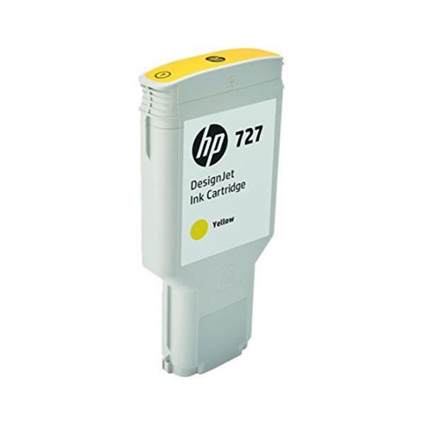 HP HP727 インクカートリッジイエロー 300ml F9J78A 1個