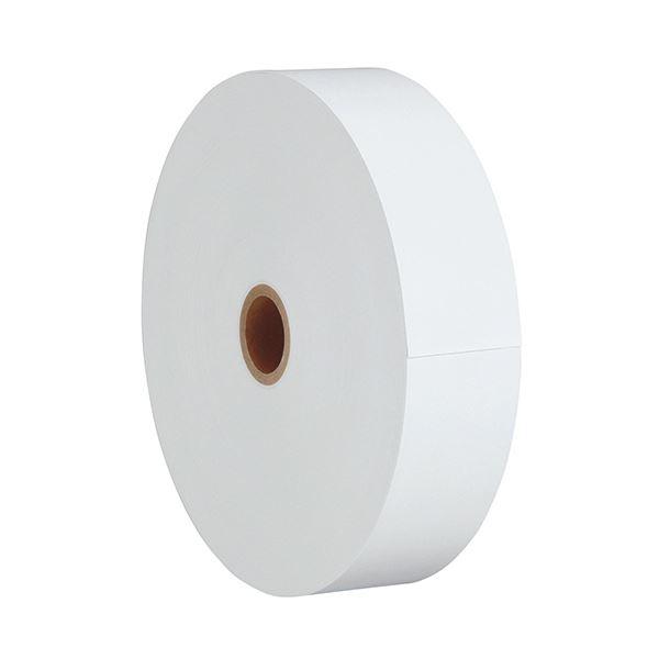 クリエイティア 券売機用感熱ロール紙幅57.5mm×長さ300m×芯内径35mm 白/ミシン入 KB57300WM 1箱(5巻)