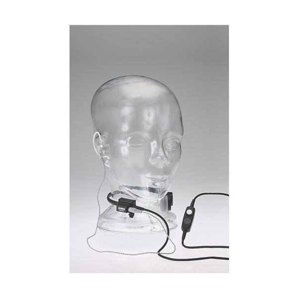<title>咽喉部の振動を音声化することにより騒音の激しい工場や現場でも通信を行うことができます アルインコ 業務用咽喉マイクEME39A 贈与 1個</title>