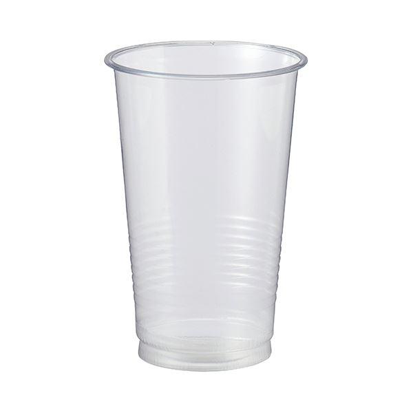 TANOSEE リサイクルPETカップ 420ml(14オンス)1セット(900個:50個×18パック)