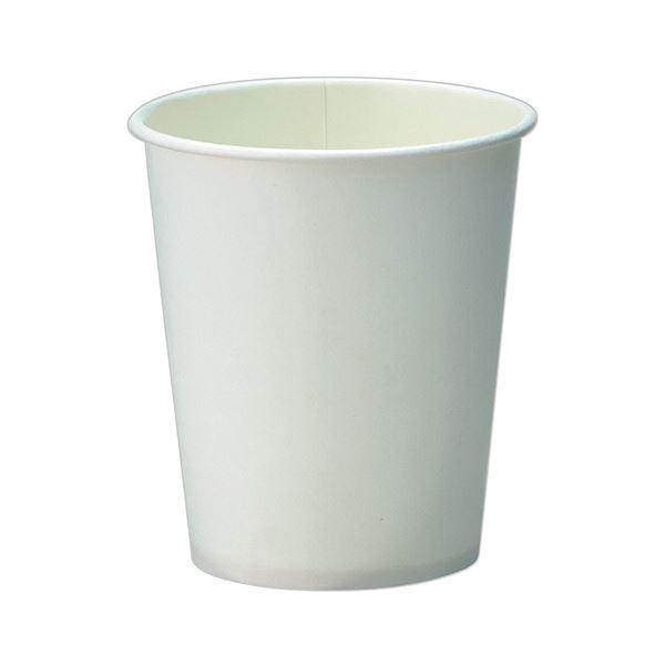 TANOSEE 紙コップ ホワイト205ml(7オンス) 1ケース(2500個:100個×25パック)