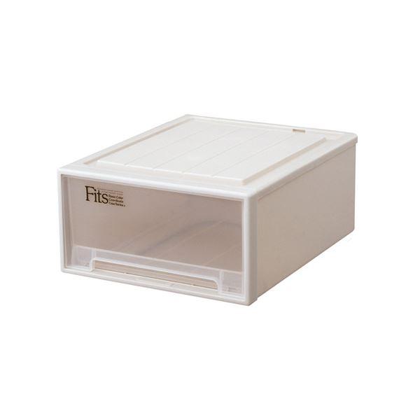 天馬 Fits フィッツケースクローゼット(ワイド) M-53 W440×D530×H230mm カプチーノ 1セット(5個)