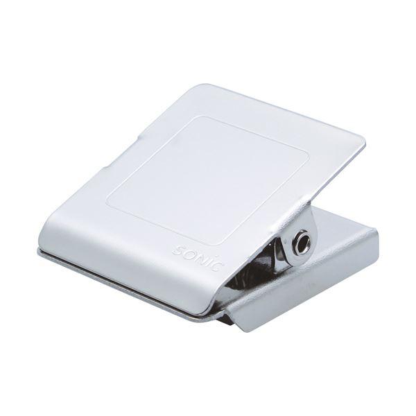 (まとめ)ソニック ステンレスマグネットクリップS CP-1095【×100セット】