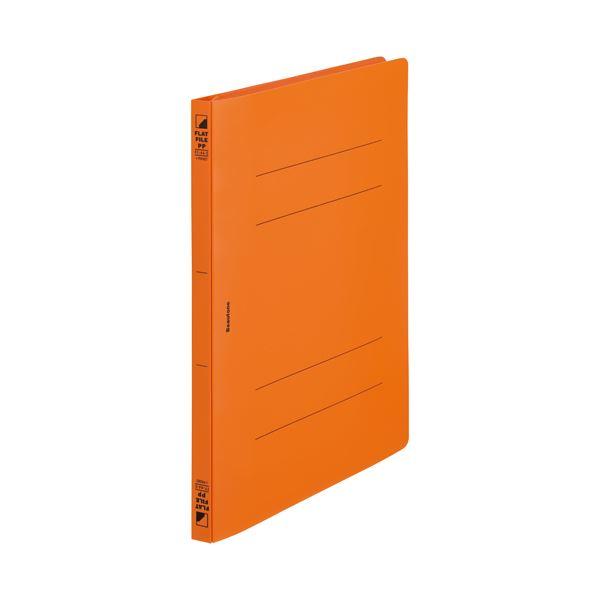 (まとめ)ビュートン フラットF PP ポケットA4S FF-A4SP-OR 10冊【×30セット】