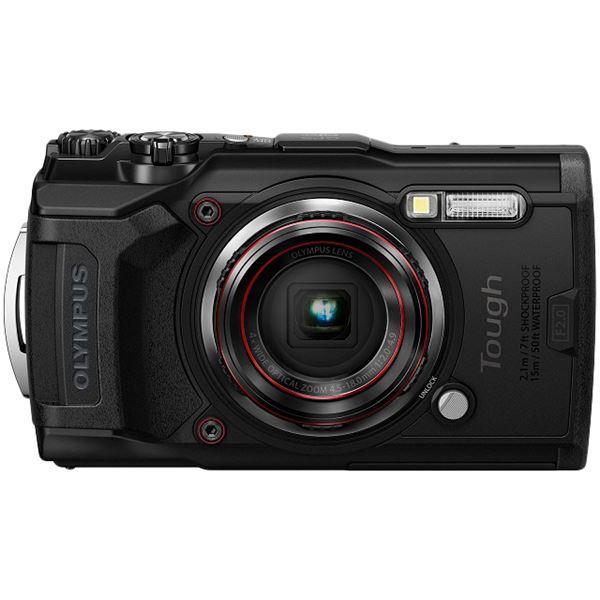 オリンパス デジタルカメラ Tough TG-6 (ブラック) TG-6 BLK