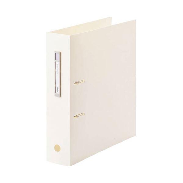 (まとめ)LIHITLAB noie-style A-Zファイル F-7687-0 ホワイト【×30セット】
