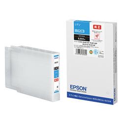 エプソン 純正インクカートリッジ IB02CB シアン 8,000ページ