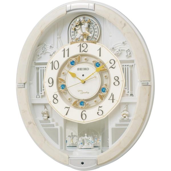 セイコークロック セイコー ウェーブシンフォニー 電波からくり時計
