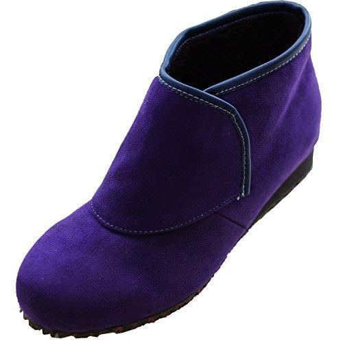 ウェルファン 防寒ブーツ リシェス 防滑ソール 婦人用 パープル S