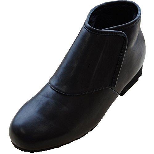 ウェルファン 防寒ブーツ リシェス 防滑ソール 紳士用 ブラック S