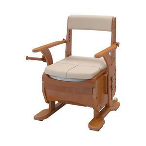 アロン化成 安寿 家具調トイレセレクトR ノーマルワイド(533-859 標準・快適脱臭)